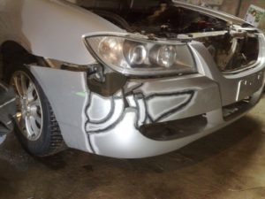 repair plastic car bumpers