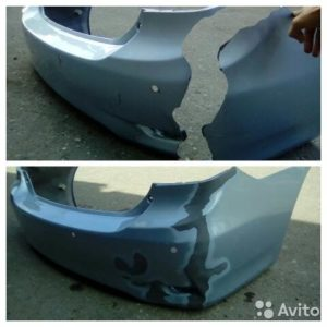 automobile plastic repair