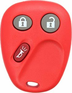 Review KeylessOption Keyless Entry Remote Control Car Key Fob Replacement for LHJ011 - Red