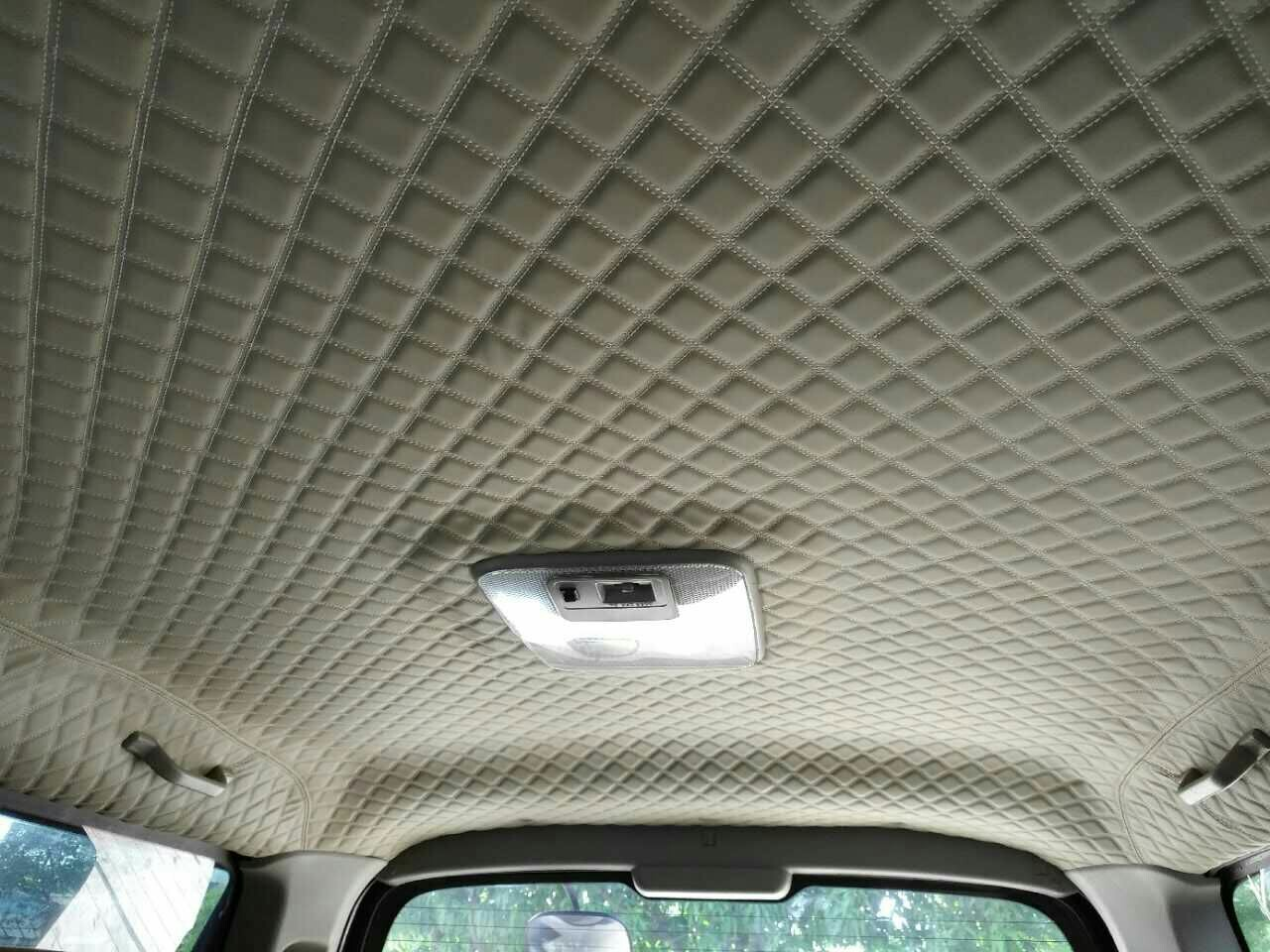interior roof of car repair