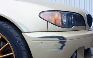 how to repair cracked plastic bumper