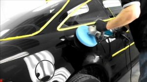 how to buff and wax a car