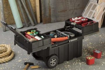 tool box on wheels, top tool chest