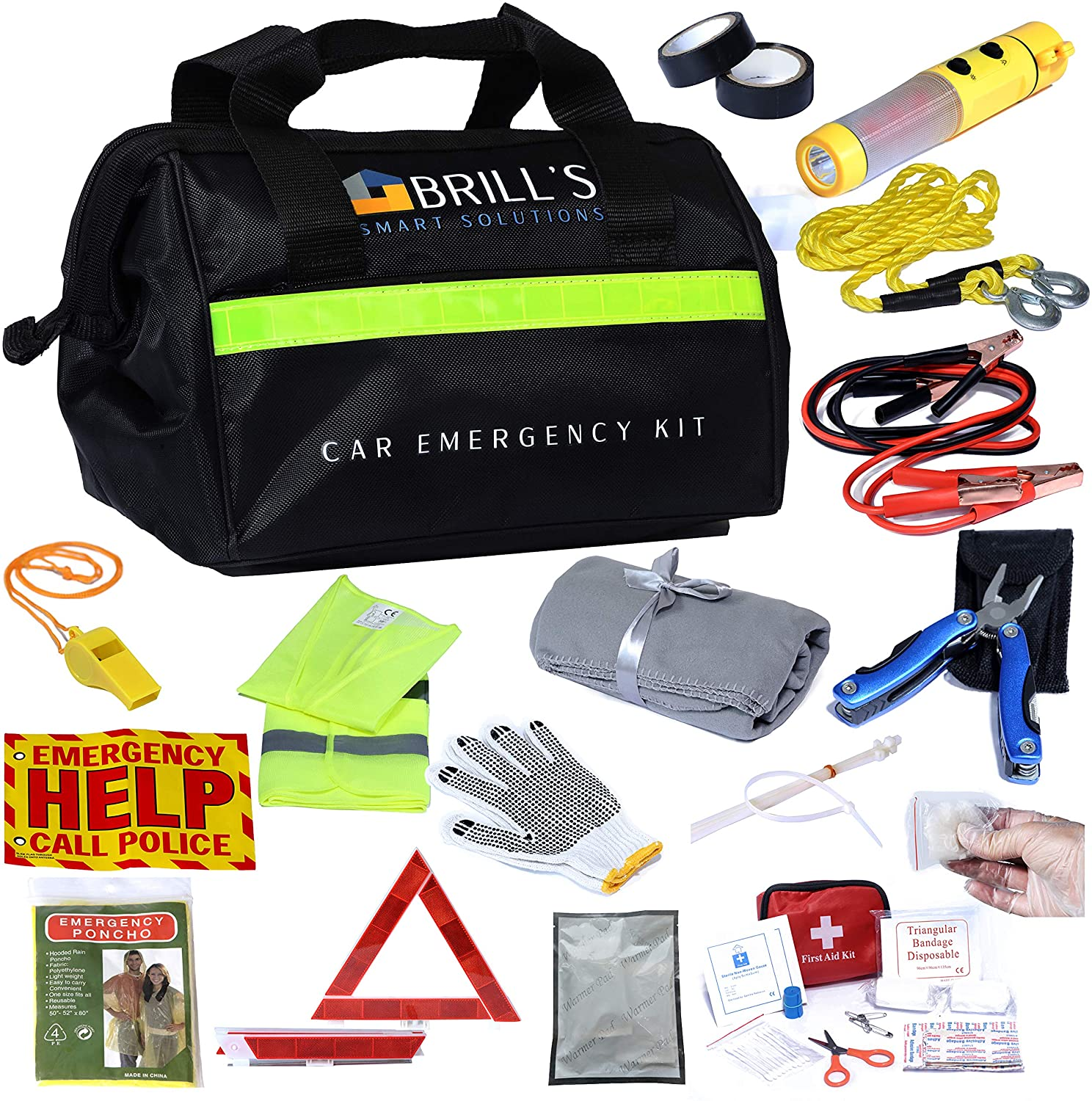 emergency car care kits, best emergency car kits