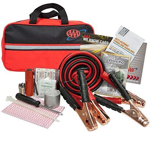 car tool kit, 72 hour kit, roadside emergency kit